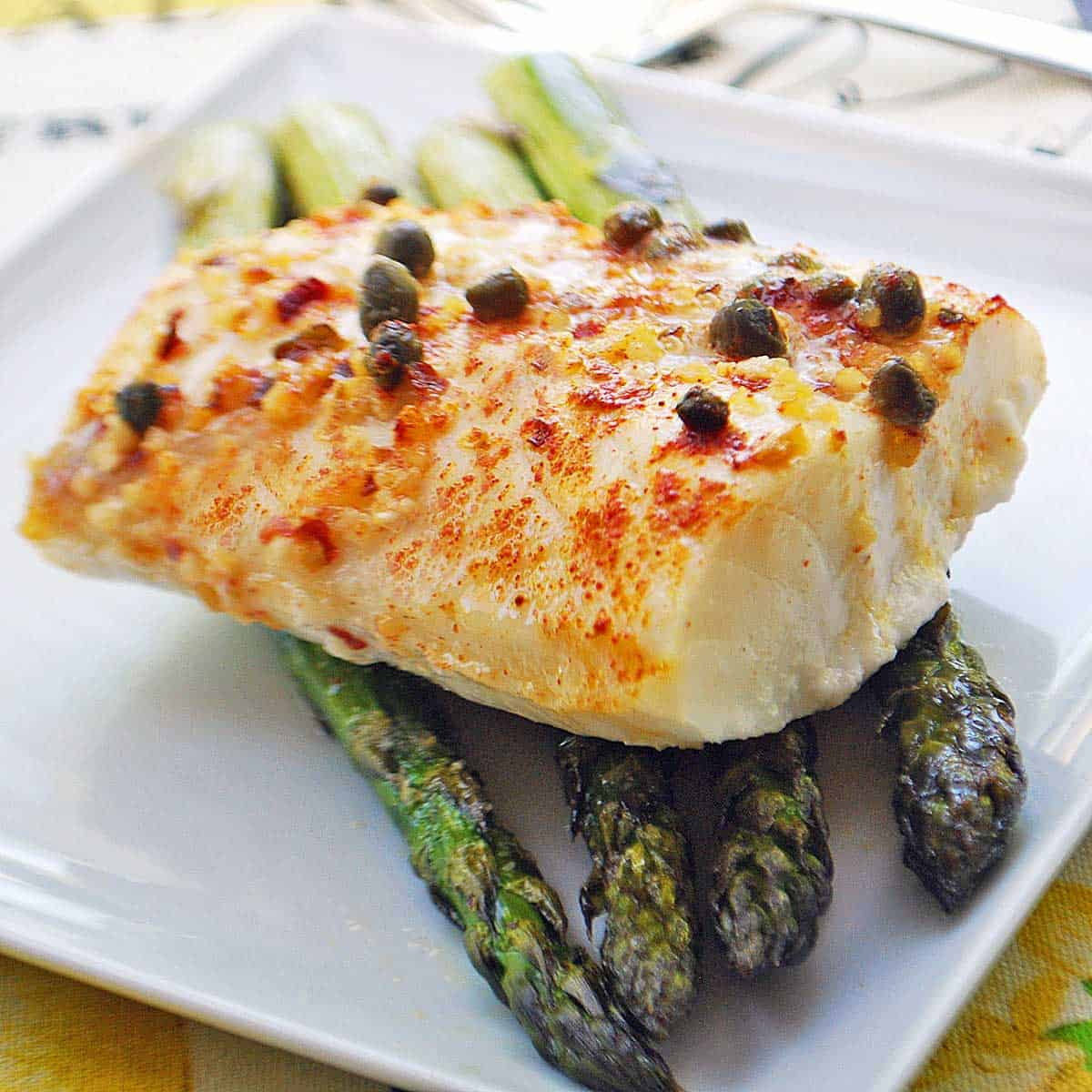 Baked Cod Recipe, From Fresh or Frozen